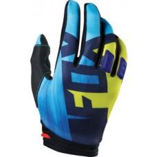 Fox Handschuhe Dirtpaw Junior - blau/gelb