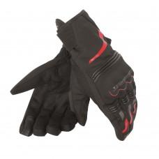 Dainese Handschuhe Tempest Short  -  schwarz/rot