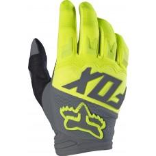 Fox Handschuhe Dirtpaw Junior - fluogelb/grau