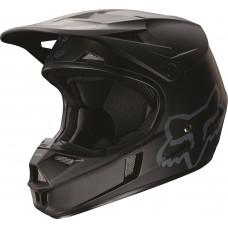 Fox Helm V1 - Matt schwarz