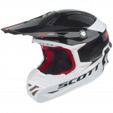 Scott Helm 350 Race - weiss/schwarz/rot