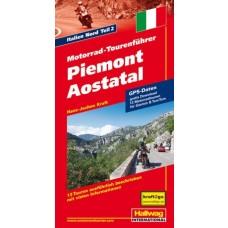 Hallwag MotoMap Piemont/Aostatal