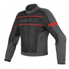 Dainese Air Frame Tex - schwarz/rot/grau