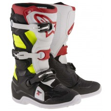 Alpinestars Tech 7S Junior - schwarz/rot/gelb