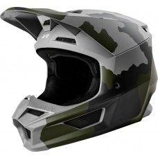 Fox V1 Moto-Cross Helm - PRZM Camo matt