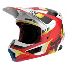 Fox V1 Moto-Cross Helm - Motif
