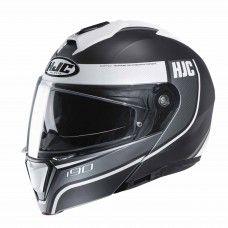HJC i90 - Davan weiss/grau matt