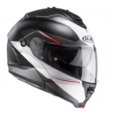 HJC IS-MAX II - Magma schwarz/weiss matt