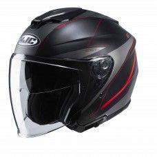 HJC i30 Slight schwarz/grau/rot matt
