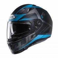 HJC i70 Eluma - schwarz/blau matt