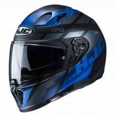 HJC i70 Reden schwarz/blau matt
