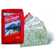 Hallwag Motorrad-Atlas Alpenländer