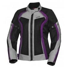 IXS Andorra Lady - schwarz/grau/violett