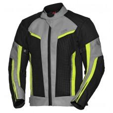 IXS Ashton - schwarz/grau/fluo-gelb