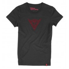 Dainese T-Shirt Shine Logo Lady