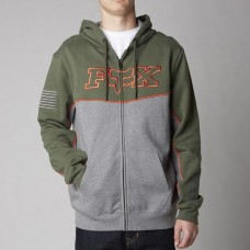 Fox Hoody - Record Zip