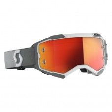 Scott Fury Brille - weiss-grau/orange