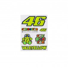 Sticker-Kit VR46 klein